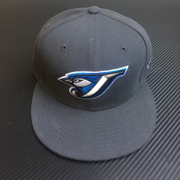 new era accessories toronto blue jays fitted hat size 7 58